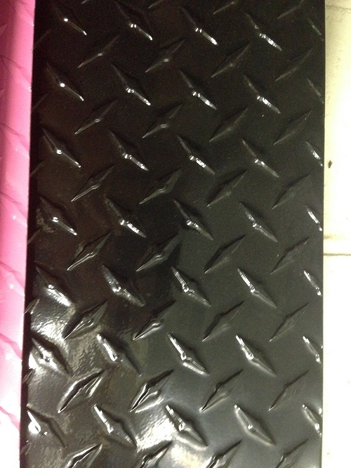 "Brite 3003 H22 .063 x 12/"" x 18/"" Diamond Tread Sheet"