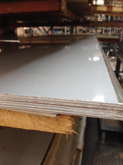 """.063 Aluminum Sheet 5052 H32 6/"""" x 12/"""""""
