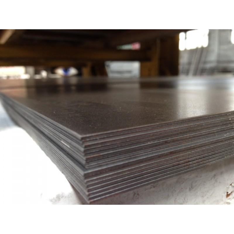 "1//16/'/' Steel Plate  x 5/"" x 7/"" A36 Steel 16ga"