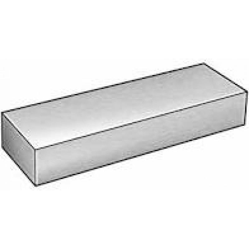 """1/"""" x 1-3//4/"""" x 12/"""" 1018 Cold Finished Steel Rectangle Bar"""