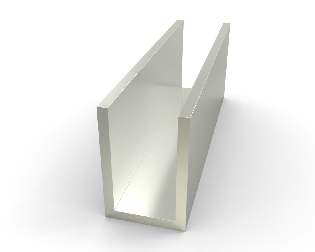 Aluminum Metal Suppliers : Alloy aluminum channel quot