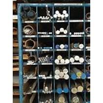 """Aluminum Solid Round 6061-T6511 - 1 1/8"""" X 48"""""""