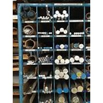 """Aluminum Solid Round 6061-T6511 - 1 1/4"""" X 72"""""""
