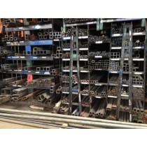 "Steel Square Tube 8"" X 8"" X .250"" X 2'"