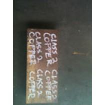 """Class 2 Copper Block, 1 1/2"""" x 3 1/2"""" x 8"""""""