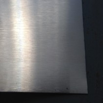 Stainless 304 #3 w/PVC One Side 14GA X 1' X 2'