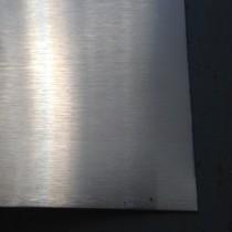 """Stainless 304 #3 w/PVC One Side 1/8"""" X 2' X 4'"""