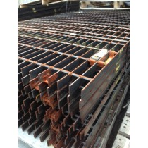 "Steel Bar Grating 19-W-41"" x 1/8""  -- 35 3/4"" x 12"""