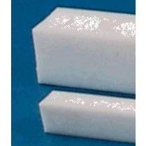 "1 3/4"" x 1 1/2"" x 12"" PTFE Rectangular Solid Bar"