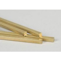 "BRASS SQUARE BAR 1/4"" X 72"" 2PCS"