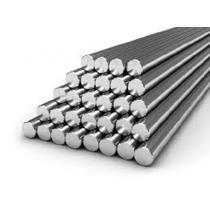"304 Stainless Steel Round Bar - 7/16"" x 48"""