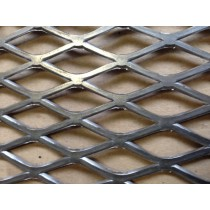 """Stainless Expanded Sheet1/2"""" #16 Flat  X 3' X 4'"""
