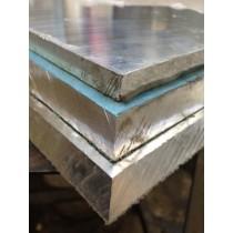 "Aluminum Cast Tooling PlatePVC Both Sides1.00"" X 1' X 1'"