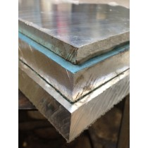"Aluminum Cast Tooling PlatePVC Both Sides.500"" X 1' X 1'"