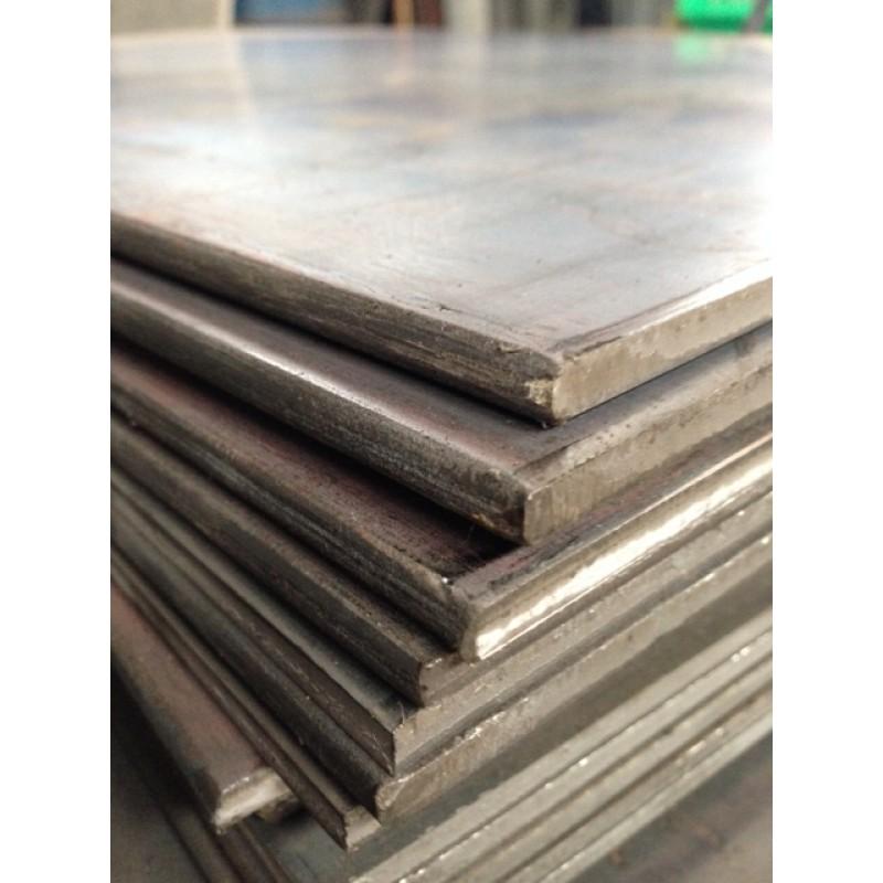"Hot Roll A36 Steel Sheet<br>3/16"" X 2' X 2'"