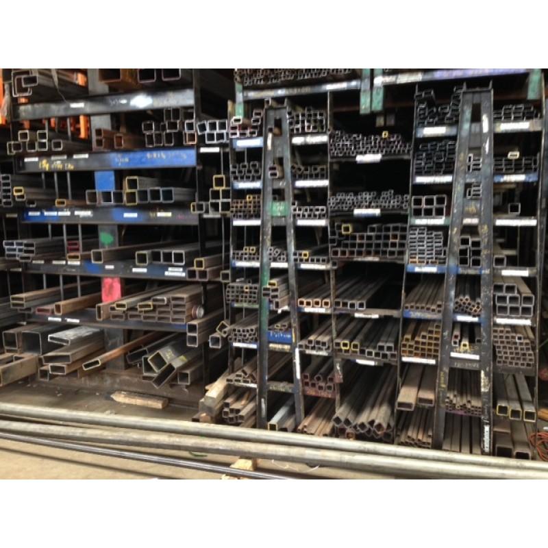 "Steel Square Tube <br>8"" X 8"" X .250"" X 2'"