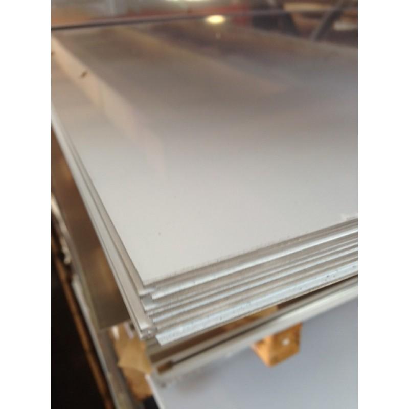 """Aluminum 3003-H14 Sheet<br>No PVC<br>.100"""" X 3' X 4'"""