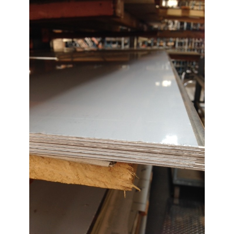 "Aluminum 5052-H32 Sheet<br>with PVC 1 Side<br>.125"" X 2' X 2'"