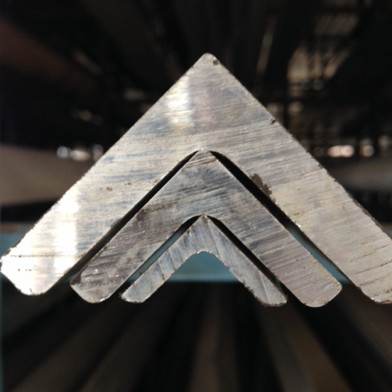 "Aluminum 6061-T6 Angle<br>2"" X 2"" X 3/8"" X 8'"