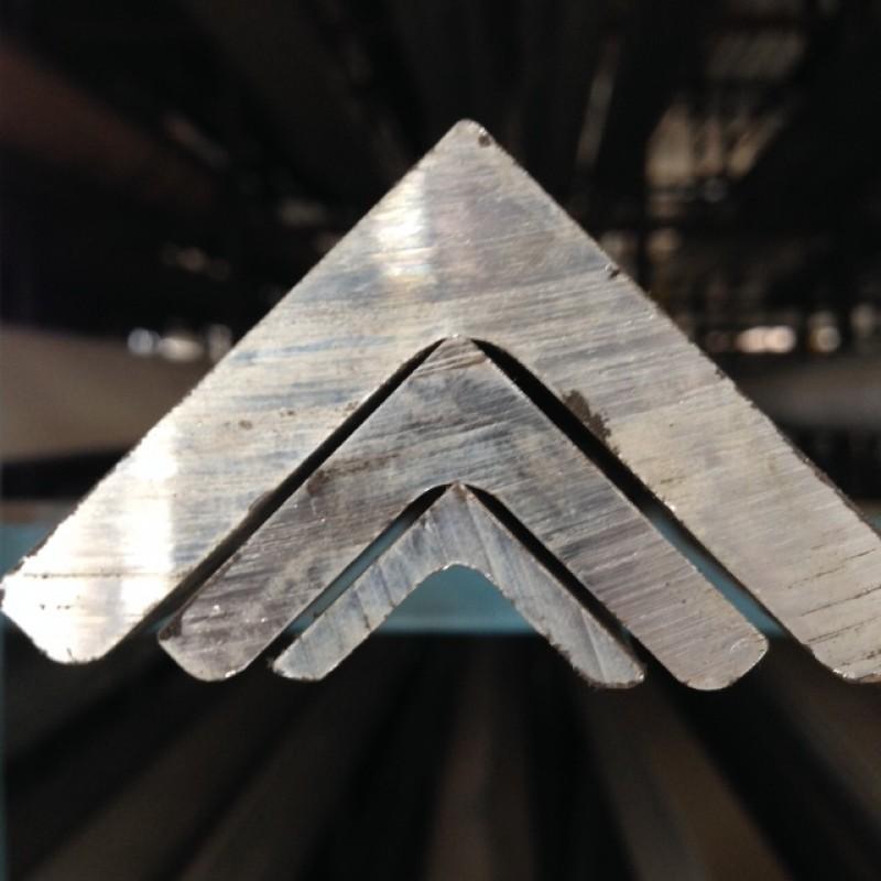 "Aluminum 6061-T6 Angle<br>1"" X 1"" X 3/16"" X 8'"