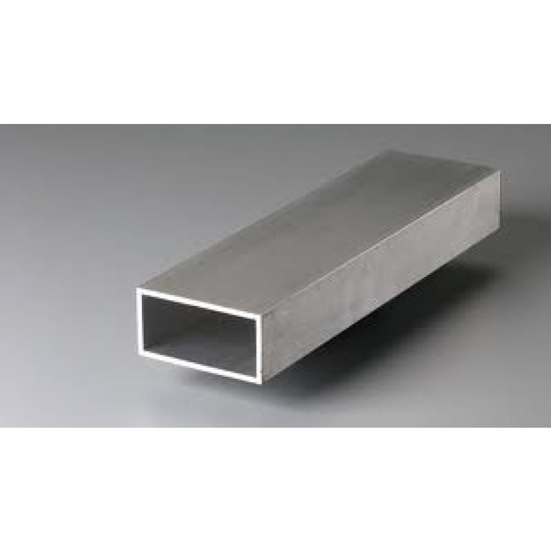 "ALUMINUM RECTANGLE TUBING 2"" x 8"" x 1/8"" x 72"" 6061-T6"