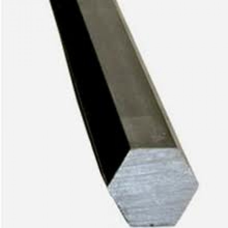 "COLD ROLL STEEL HEX 2"" x 48"" ALLOY 12-L-14"