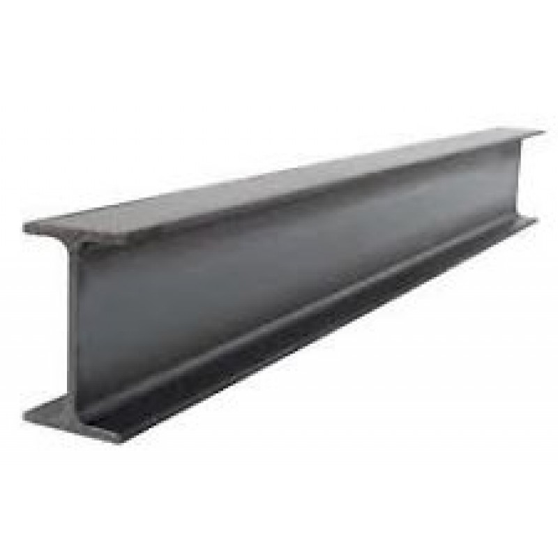 "S4 x 7.7 Standard Steel I-Beam - 96"" Long"