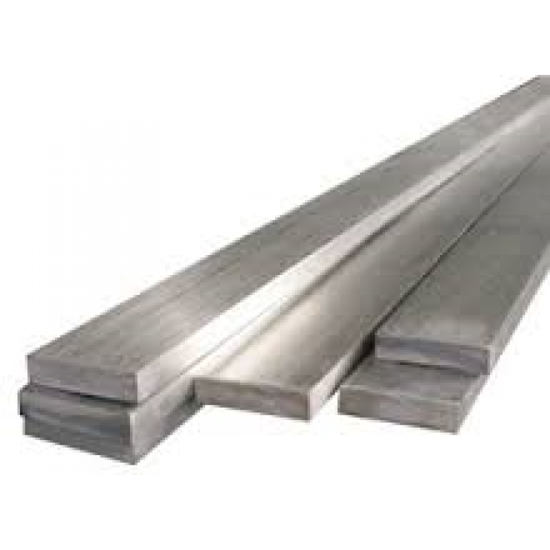 "304 Stainless Steel Flat Bar - 1/4"" x 1 1/4"" x 96"""