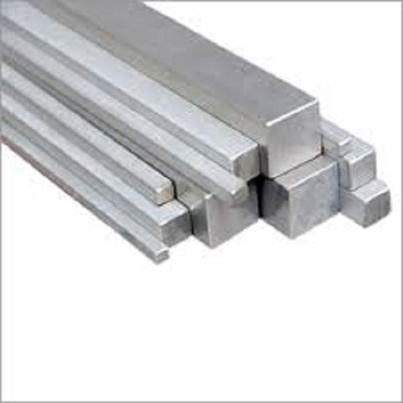 "304 Stainless Steel Square Bar - 1"" x 48"""