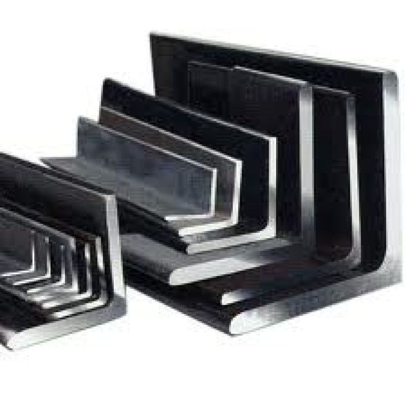 "STAINLESS ANGLE .024"" x1"" x2"" x 96"" brushed finish 304"