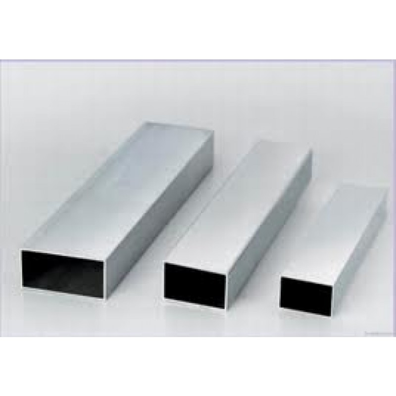 "STAINLESS STEEL RECTANGLE TUBE 3"" x 6"" x 5/16"" x24"" 304"