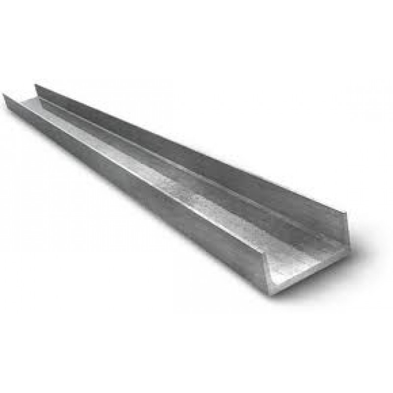 "2"" x 1"" x 3/16"" x 4' STEEL CHANNEL 5PCS"