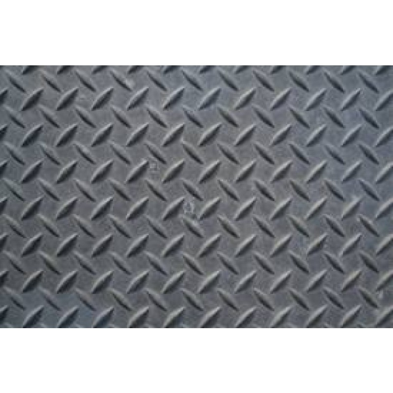 "Steel Treadplate, 1/4"" x 12"" x 24"""