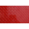 "AL Diamondplate Painted Red<br> .025"" X 2' X 4'"